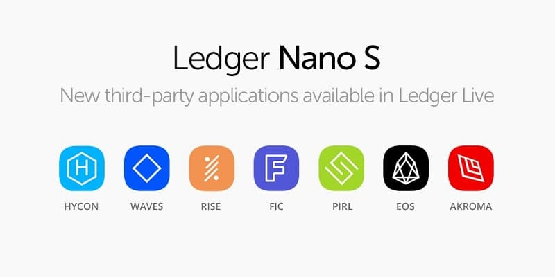 Аппаратный кошелек Ledger Nano S