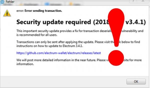 Пользователи кошелька Electrum лишились 200 биткоинов из-за уязвимости, которая пока не устранена