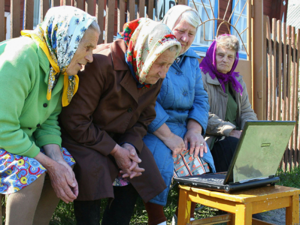 Сибирские «бабушки» майнят биткоины