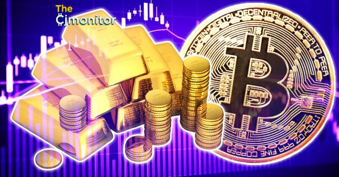 Курс биткоина начал теснее коррелировать с золотом