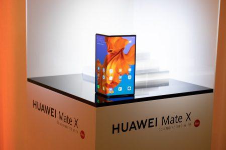 Huawei Mate X — самый тонкий и самый быстрый в мире складной смартфон с 5G. Всего 00