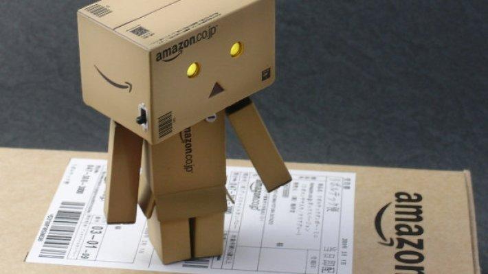 Amazon начал тестировать беспилотного робота-доставщика