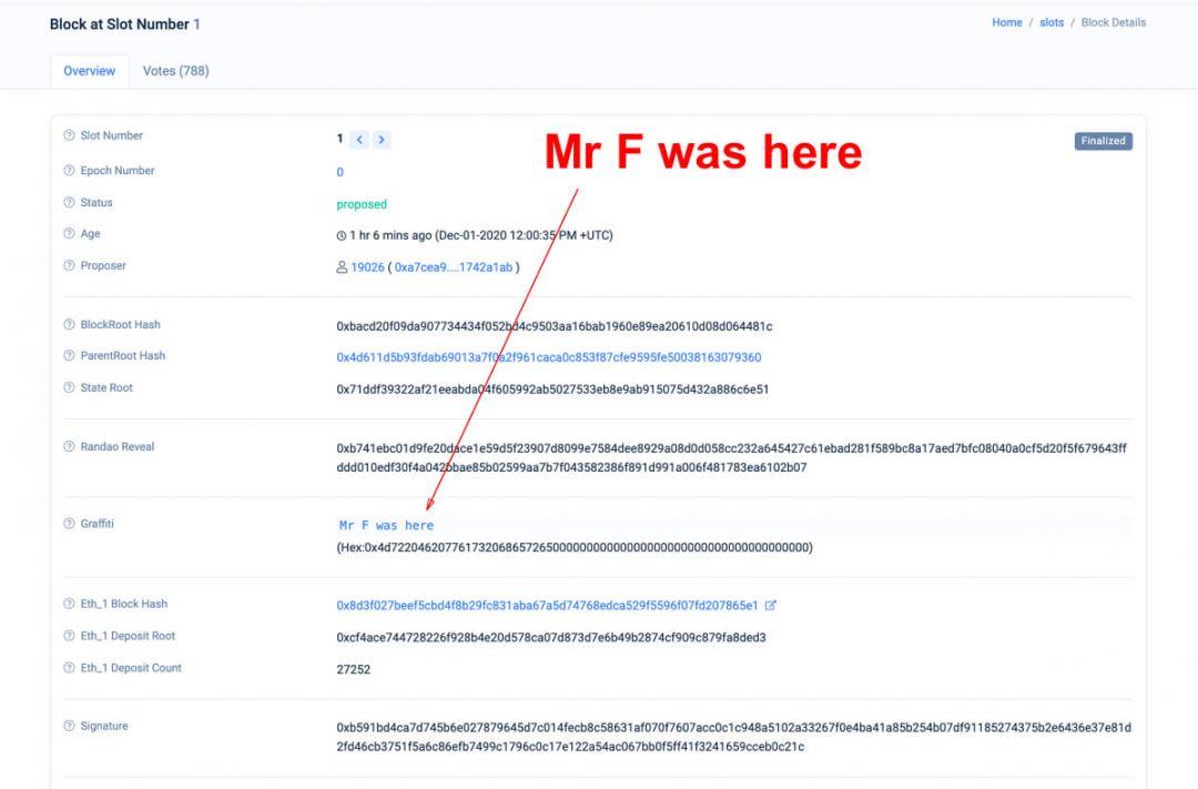 блокчейн Эфириум сообщение