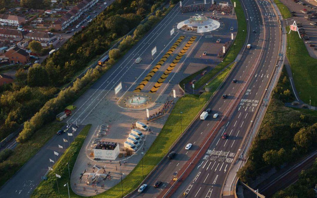 проект миниаэропорта на местности
