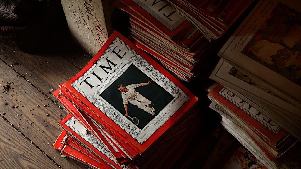 журнал газета Time