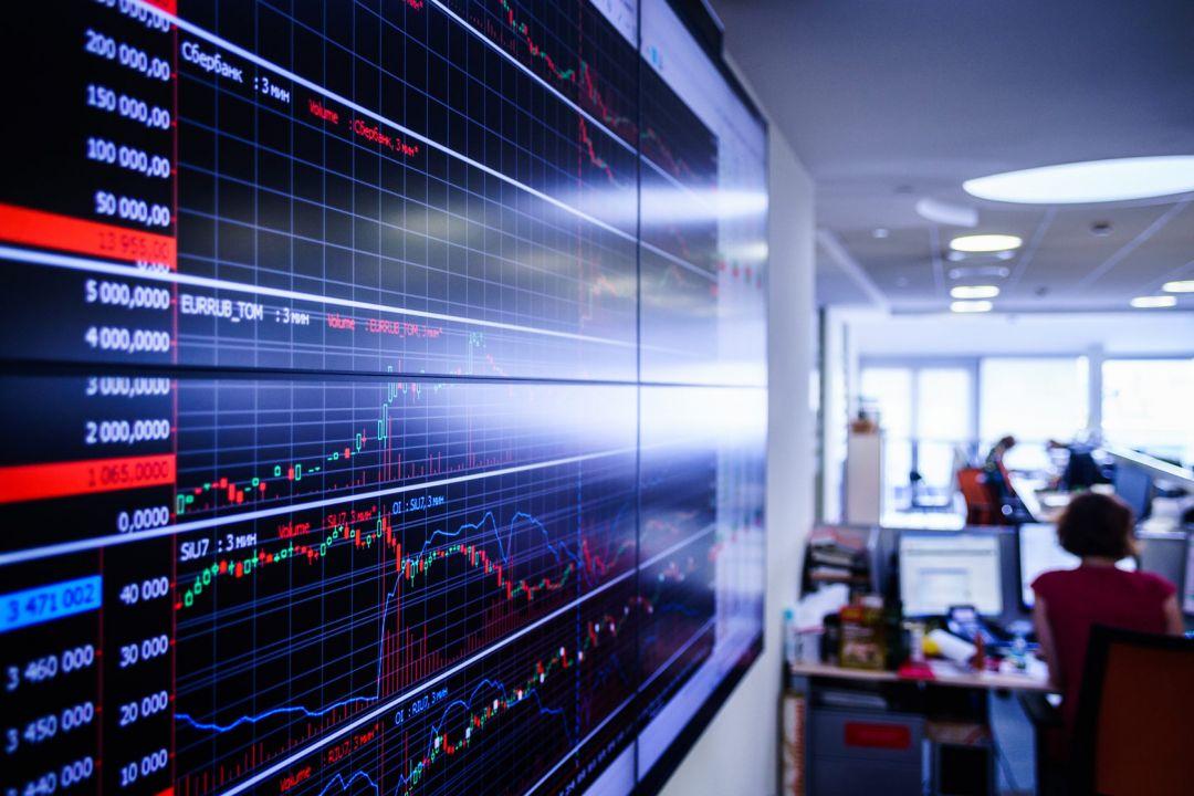 ценовой график на Московской бирже