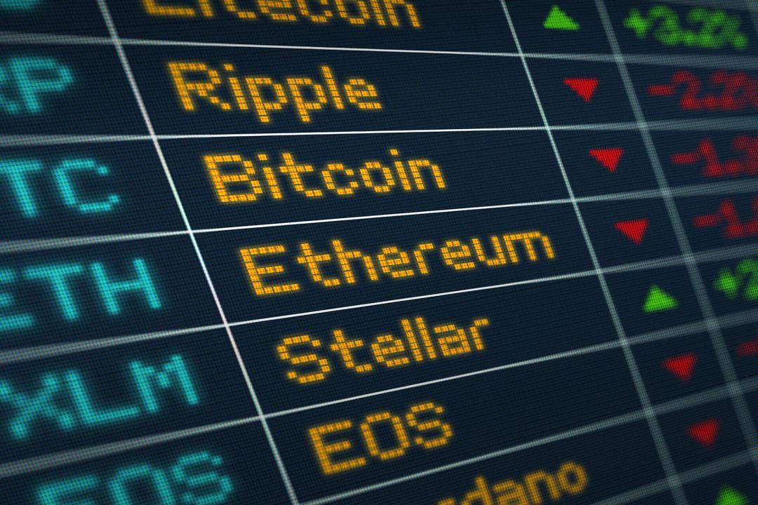 катировки криптовалют