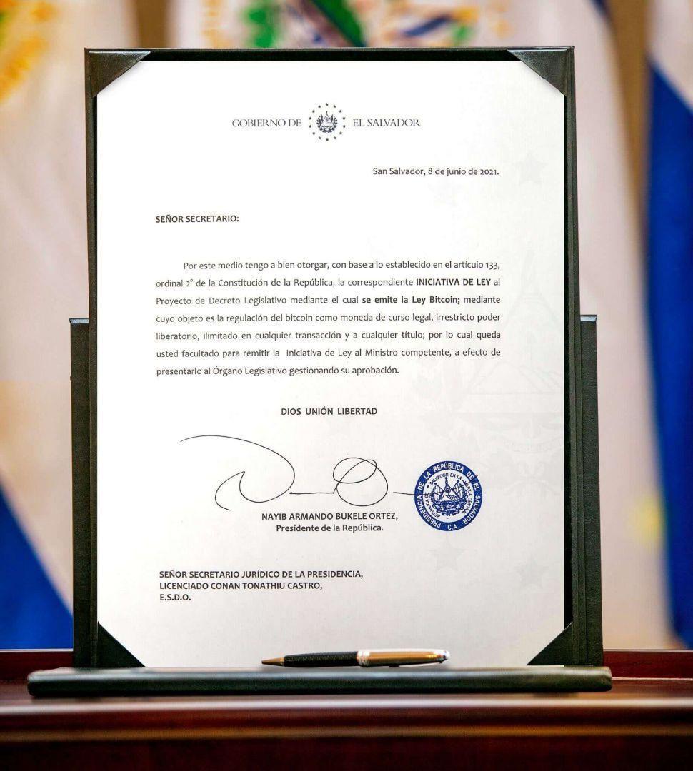 сальвадор биткоин криптовалюты