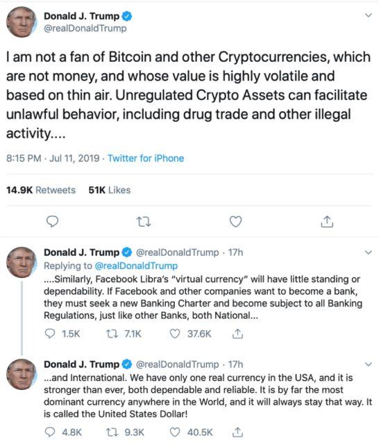 Twitter Трамп президент