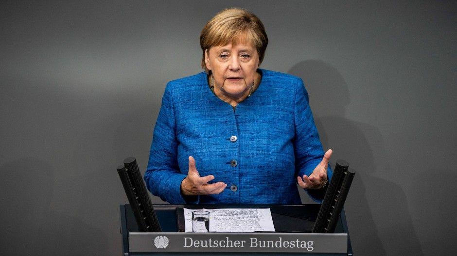 Меркель многие поддержали