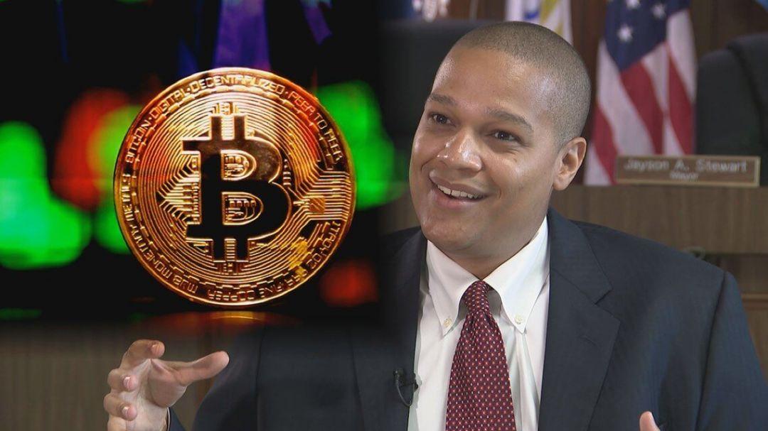 мэр Биткоин криптовалюта США