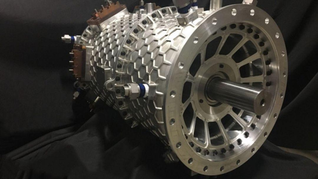 электрический авиадвигатель на 2 МВт