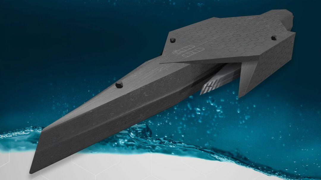 роботизированный корабль будущего