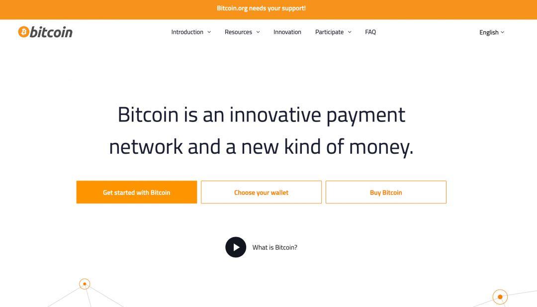 Сайт Bitcoin.org