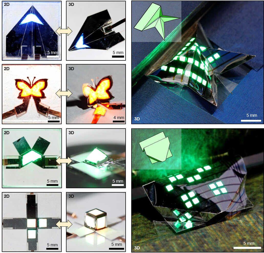 трехмерные модели светодиодов