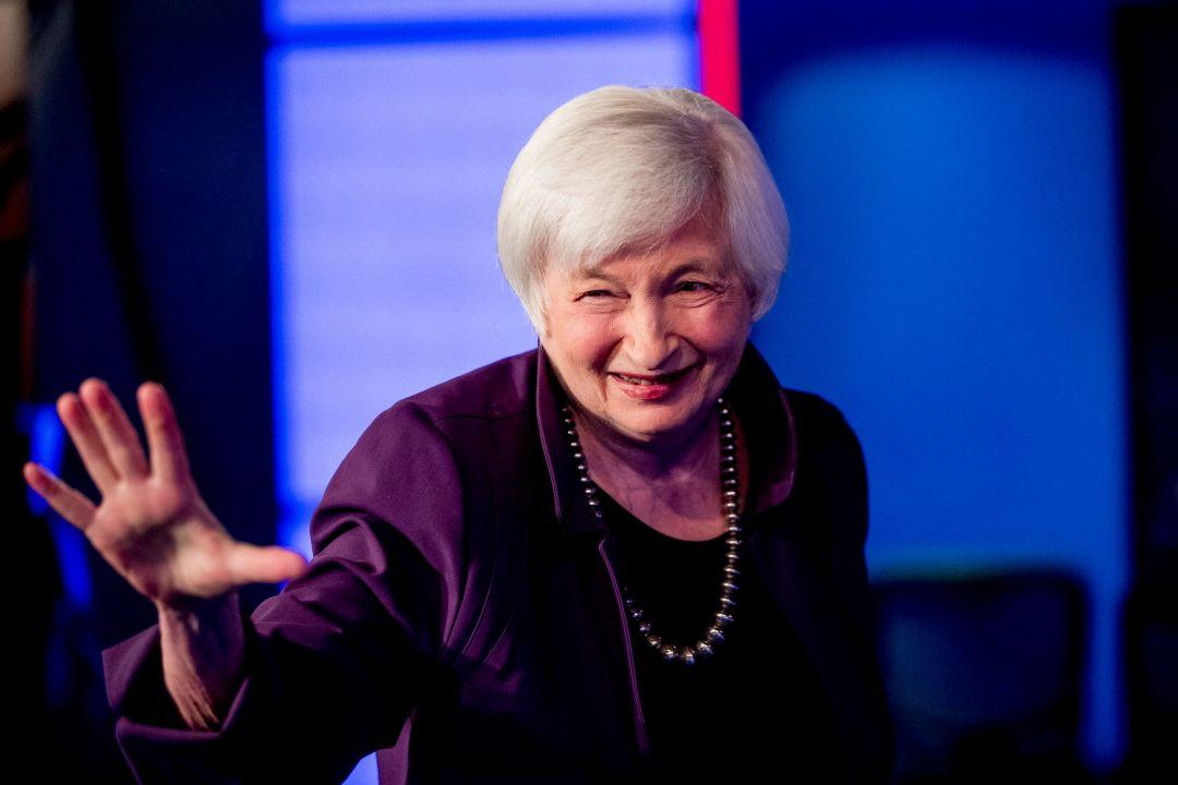 Джанет Йеллен США финансы