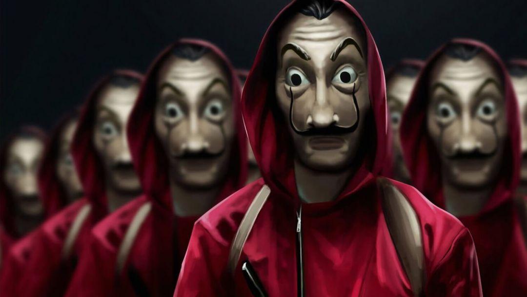 ограбление маски сериал Netflix