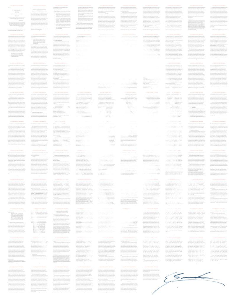 NFT токен криптовалюты Сноуден