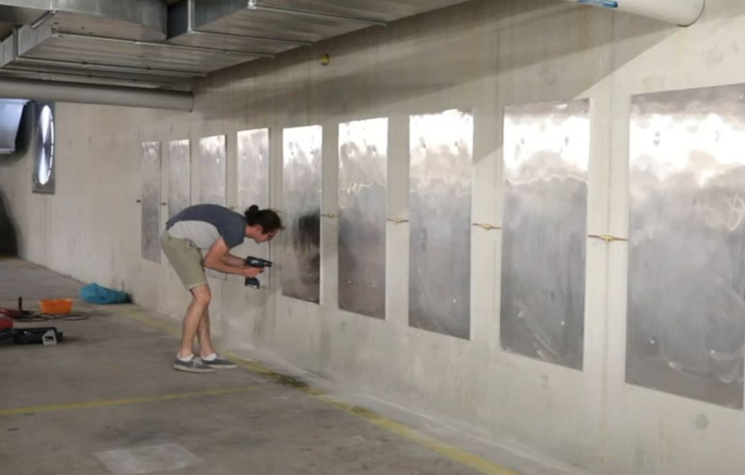 геотермальные панели в подземном гараже